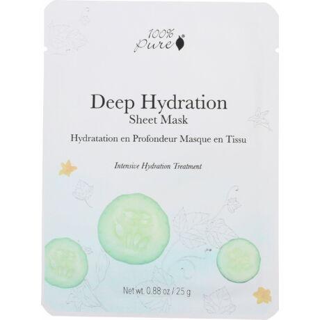 100% Pure Mélyhidratáló fátyolmaszk (25 g)