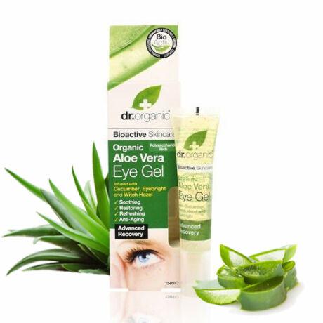 Dr. Organic Bio Aloe Vera szemkörnyék ápoló gél