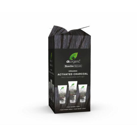 Dr. Organic Aktív szenes arctisztító ajándékcsomag (1 db)