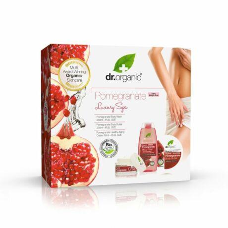 Dr. Organic Luxury Spa Bio gránátalmás ajándékszett (1 db)