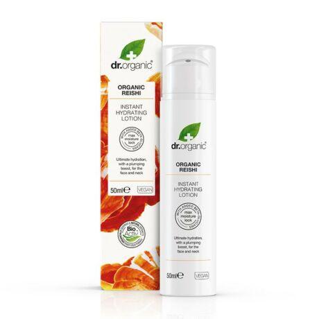 Dr. Organic Instant hidratáló krém bio Reishi gombával (50 ml)