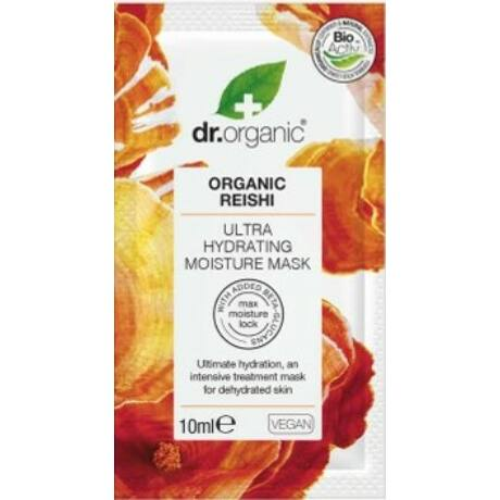 Dr. Organic Ultra hidratáló arcmaszk bio Reishi gombával (10 ml)