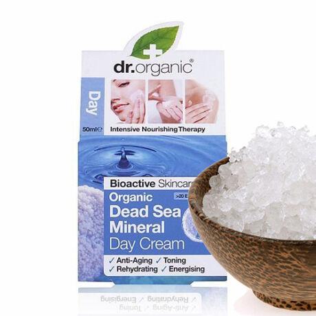 Dr. Organic Bio természetes Holt-tenger nappali arcápoló