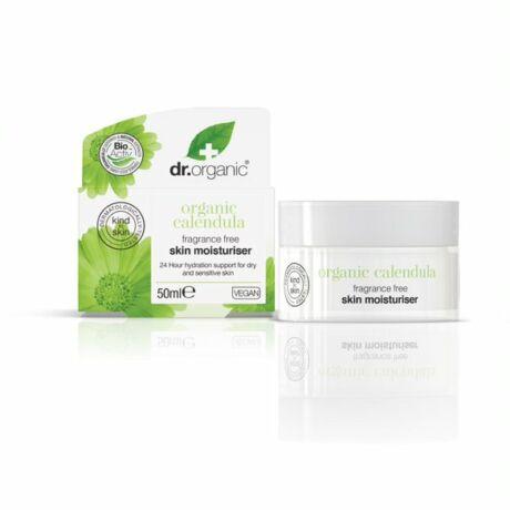 Dr. Organic Bio Illatmentes körömvirág hidratáló krém (50 ml)