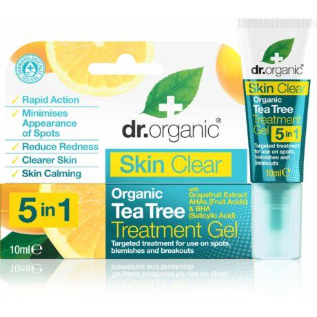 Dr. Organic Skin Clear pattanáskezelő gél 5 az 1-ben (10 ml)
