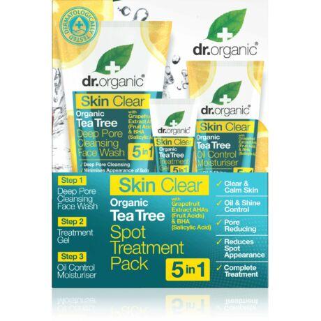 Dr. Organic Skin Clear pattanáskezelő szett 5 az 1-ben (1 db)