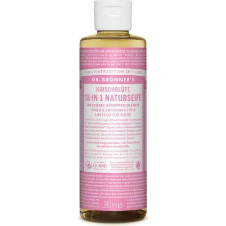 Dr. Bronner's Cseresznyevirág folyékony szappan koncentrátum (240 ml)