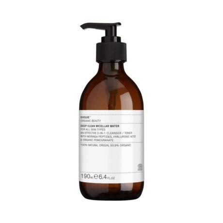Evolve Beauty Deep clean micellás arctisztító (190 ml)