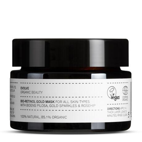 Evolve Beauty Bio-retinol Bőröregedésgátló arany maszk (30 ml)