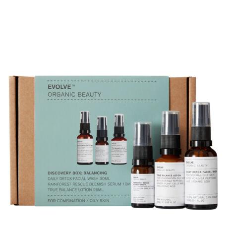 Evolve Beauty Bőrápoló trió csomag problémás bőrre (1 db)