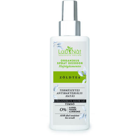 Labnat Bio spray dezodor (Vapo) - Zöld tea (100 ml)