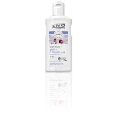 Lavera Arctisztító tej száraz, érzékeny bőrre - mályva, mandula (125 ml)