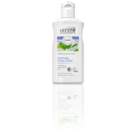 Lavera Arctisztító tonik zsíros, vegyes bőrre - ginkgo, szőlő (125 ml)