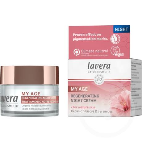 llavera MY AGE Regeneráló éjszakai arckrém (50 ml)
