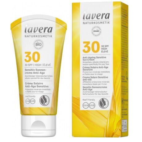 lavera SUN Öregedésgátló Napvédő krém SPF 30 (50 ml)