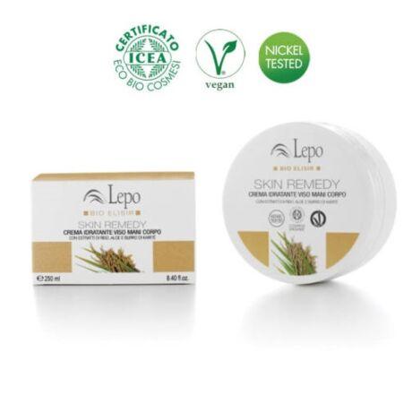 Lepo Bio Elisir bőrjavító hidratáló krém arcra, kézre, testre (250 ml)