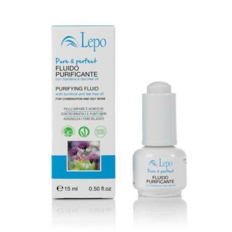 Lepo Arckezelő és -tisztító folyadék pattanásos bőrre (15 ml)