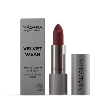 Mádara Velvet Wear Matt krémes ajakrúzs - dark nude (3,8 g)