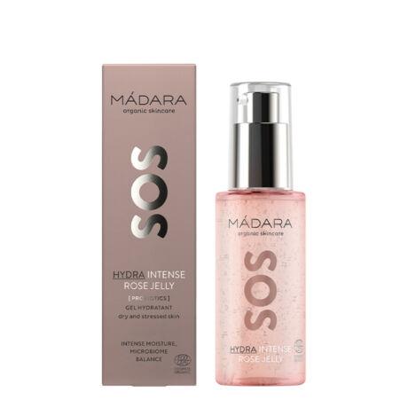 Mádara SOS Hydra Intenzív hidratáló rose jelly probiotikummal (75 ml)