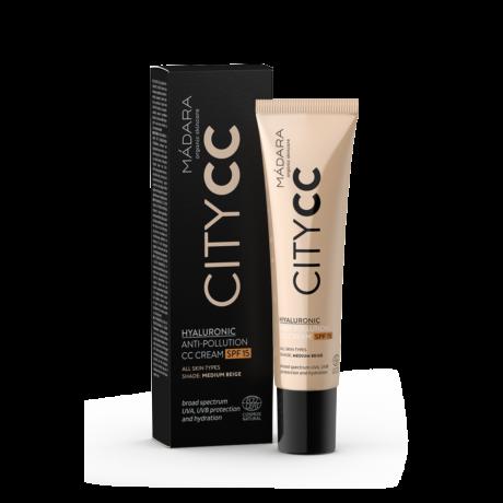 Mádara 15 faktoros CC krém hialuronsavval medium (40 ml)
