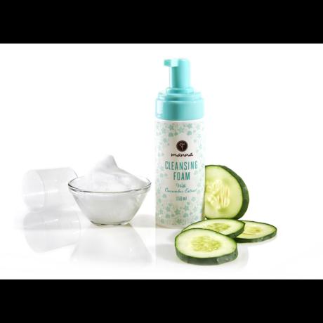 Manna Arctisztító hab uborkakivonattal (150 ml)