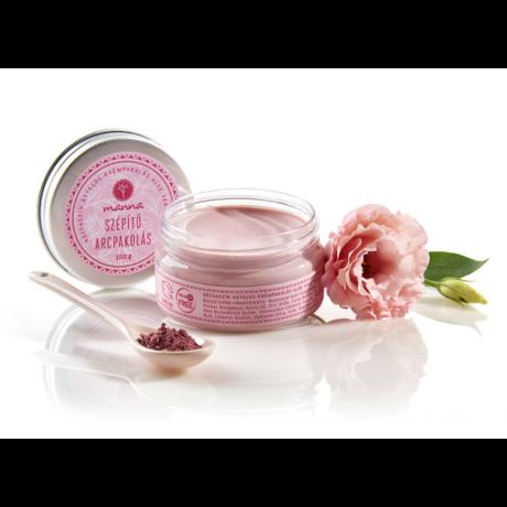 Manna Rózsaszín agyagos krémpakolás aloe vera vajjal (100 ml)