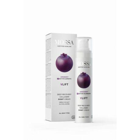 Mossa V-LIFT Bőrmegújító éjszakai krém (50 ml)