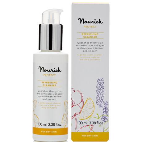 Nourish Protect Frissítő arctisztító tej - száraz bőrre