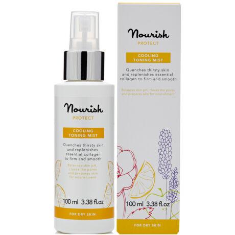 Nourish Protect Pumpás arctonik - száraz bőrre