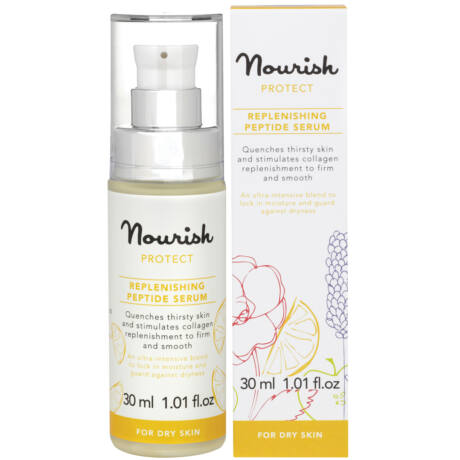 Nourish Protect Újrafeltöltő peptid szérum - száraz bőrre