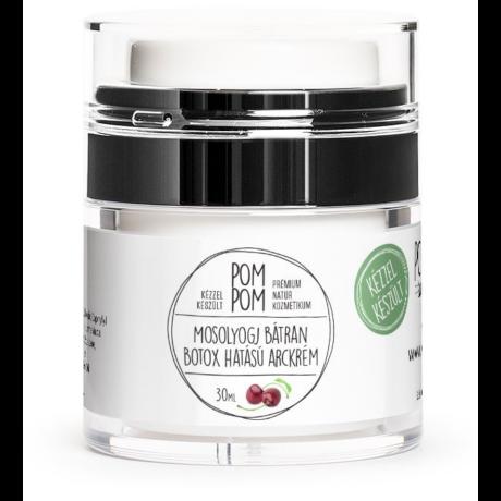 PomPom Mosolyogj bátran - botox hatású arckrém (30 g)