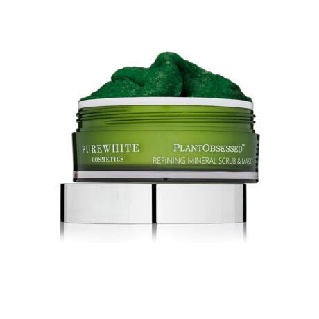 Pure White PlantObsessed™ Tápláló és Pórustisztító Ásványi Radírozó Maszk (100 ml)