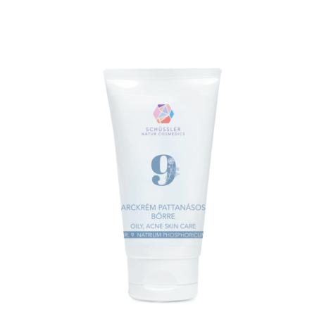 Nr.9 Schüssler natúr arckrém pattanásos bőrre (75 ml)