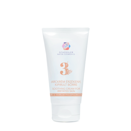 Nr.3 Schüssler natúr arckrém érzékeny, kipirult bőrre (75 ml)