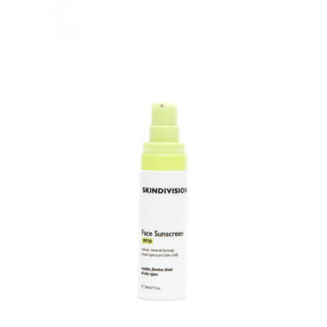 SkinDivision Fényvédő krém arcra SPF30 (30 ml)
