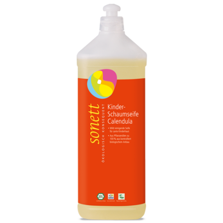 Sonett Gyerek habszappan - körömvirágos (1000 ml)