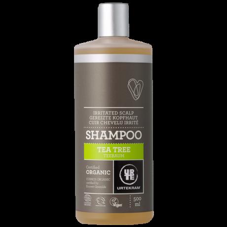 Urtekram Bio Sampon Teafaolaj - irritált fejbőrre (500 ml)
