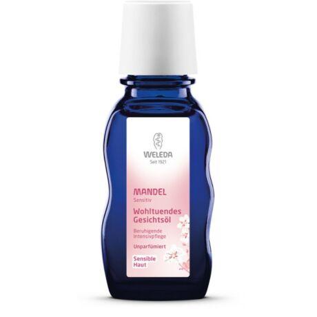 Weleda Mandulás nyugtató arcápoló olaj érzékeny bőrre (50 ml)