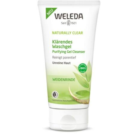 Weleda Naturally Clear tisztító arclemosó gél (100 ml)