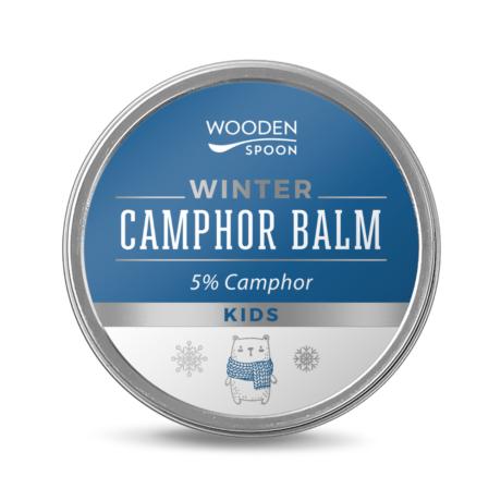 Wooden Spoon Bio téli kámforos balzsam - gyerekeknek (60 ml)