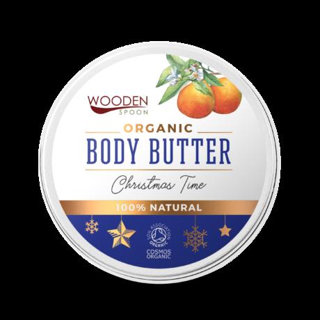 Wooden Spoon Bio testápoló vaj - Karácsonyi hangulat limitált kiadás (100 ml)