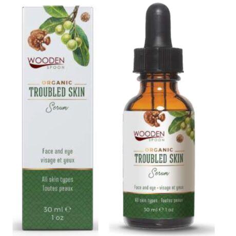 Wooden Spoon Bio arcápoló szérum - Problémás bőrre ÚJ (30 ml)