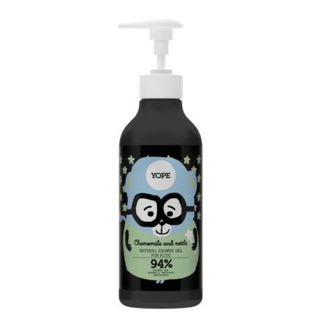 YOPE Kamilla természetes tusoló gél gyermekeknek (400 ml)