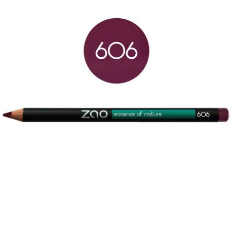 ZAO Szem- és szájkontúrceruza - 606 plum