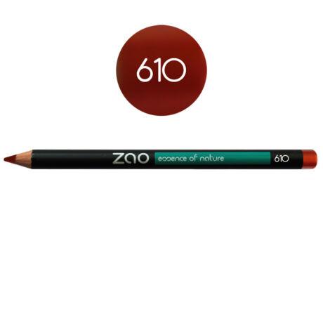 ZAO Szem- és szájkontúrceruza - 610 red copper