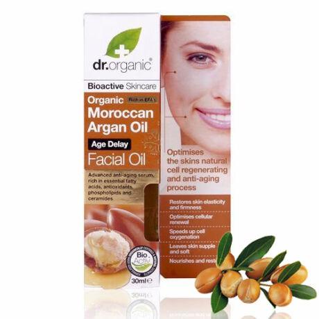 Dr. Organic Bio marokkói argánolaj öregedésgátló arcápoló
