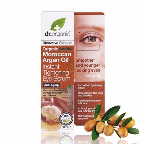 Dr. Organic Bio marokkói argánolaj szemkörnyék feszesítő szérum