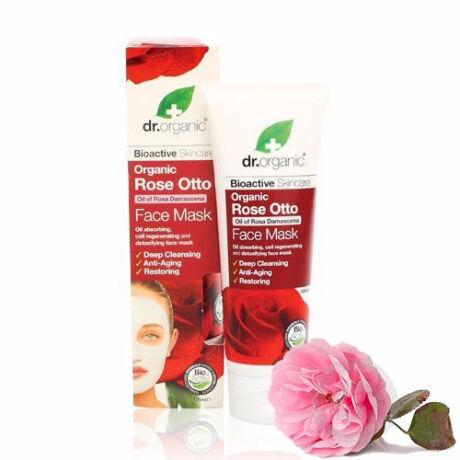 Dr. Organic Bio damaszkuszi rózsa arcpakolás
