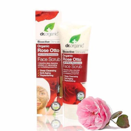 Dr. Organic Bio damaszkuszi rózsa arcradír