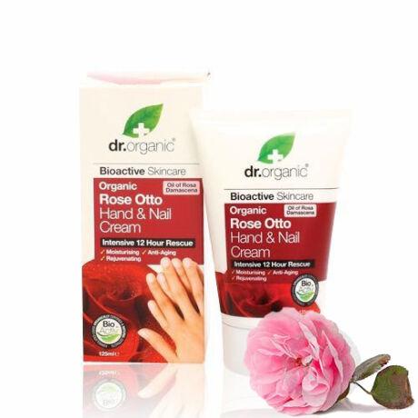 Dr. Organic Bio damaszkuszi rózsa kéz- és körömápoló